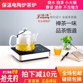 洛洋电陶炉茶炉煮茶迷你静音烧水泡茶保温小型铁壶蒸茶器家用火锅