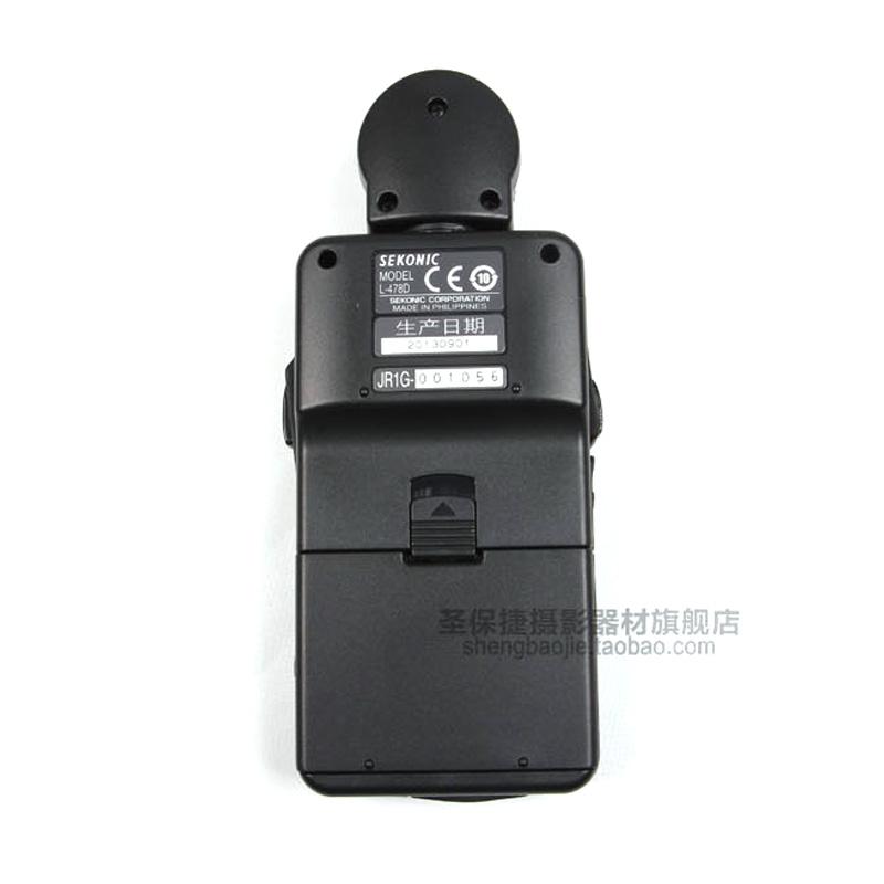 SEKONIC/世光 L-478D测光表全国联保中文系统全新触屏国行正品
