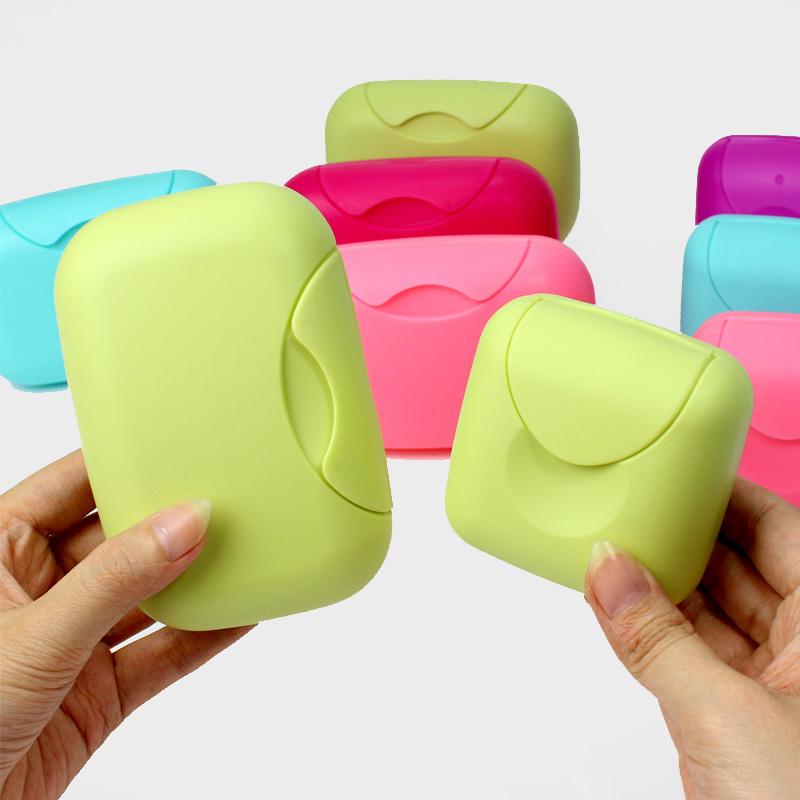 户外防水密封卡扣香皂盒 旅行皂盒 便携密封香皂盒防漏肥皂盒带盖