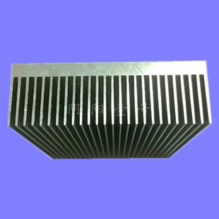26.8高密齿大功率铝片散热器电子散热板可定做 铝型材散热片80