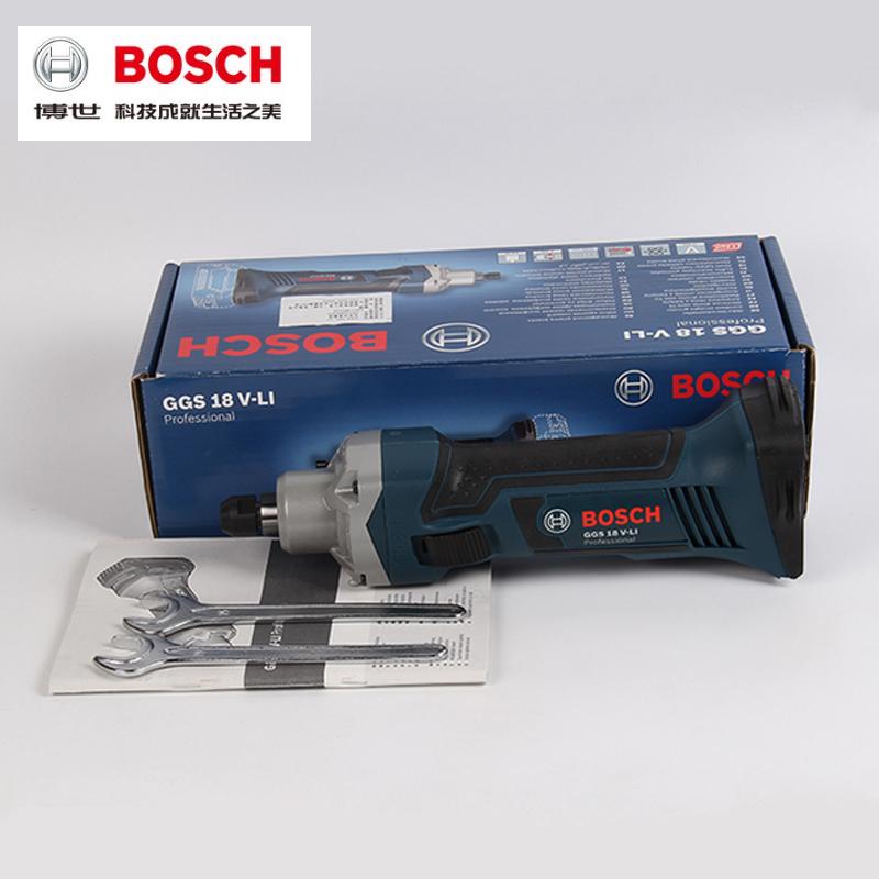 原装BOSCH博世电动工具18V锂电充电式直磨机GGS 18V-LI