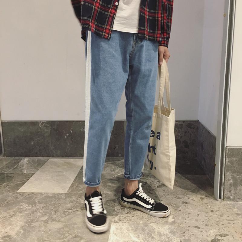 哈伦秋冬男裤牛仔
