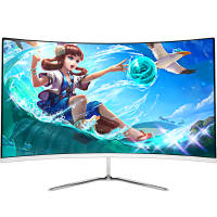 New pine people 21.522 inch curved LCD computer monitor HD game office ultra-thin display