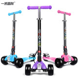 Rui Mi Gao scooter children 2-3-6 years old three round two or four rounds Baby scooter 12 years old children slides