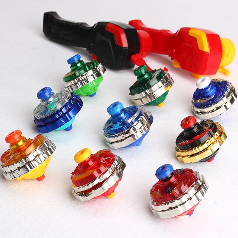三宝超变战陀玩具儿童陀螺圣焰红龙猎冰蓝龙二星双层合体暗影黑龙