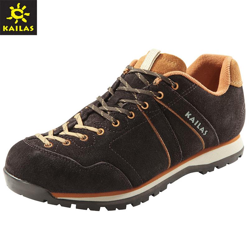 凯乐石KS510356 户外登山鞋反毛皮防泼水增高情侣徒步休闲鞋