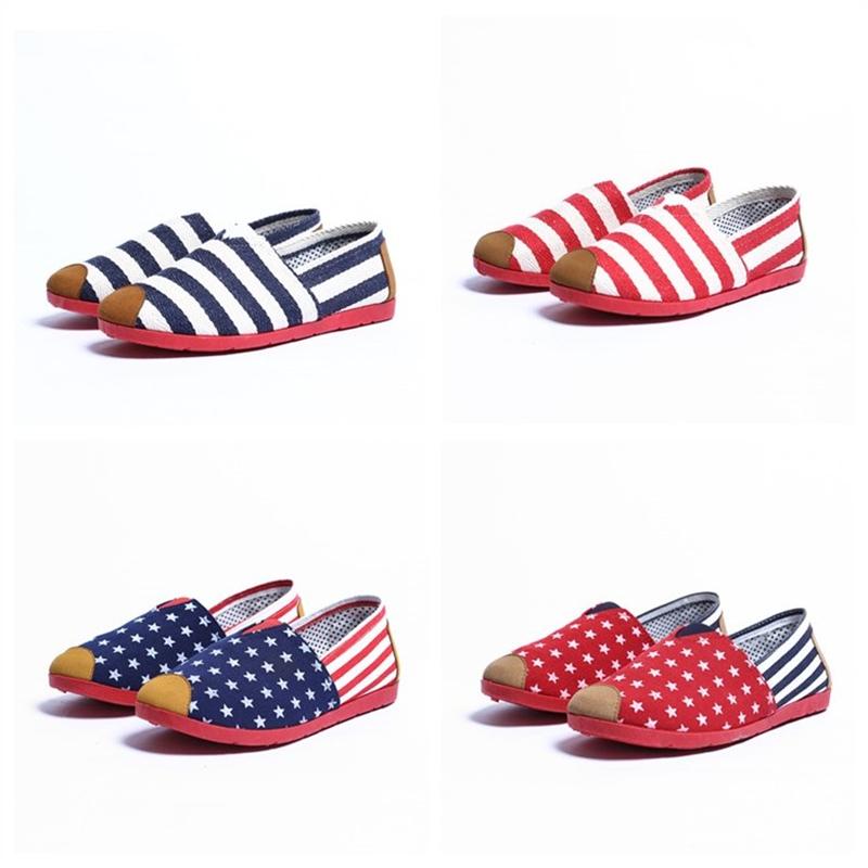 夏季新款老北京布鞋女鞋平底单鞋浅口百搭一脚蹬休闲妈妈鞋工作鞋