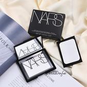 带粉扑 NARS透明裸光透明蜜粉饼 定妆控油补妆细致毛孔