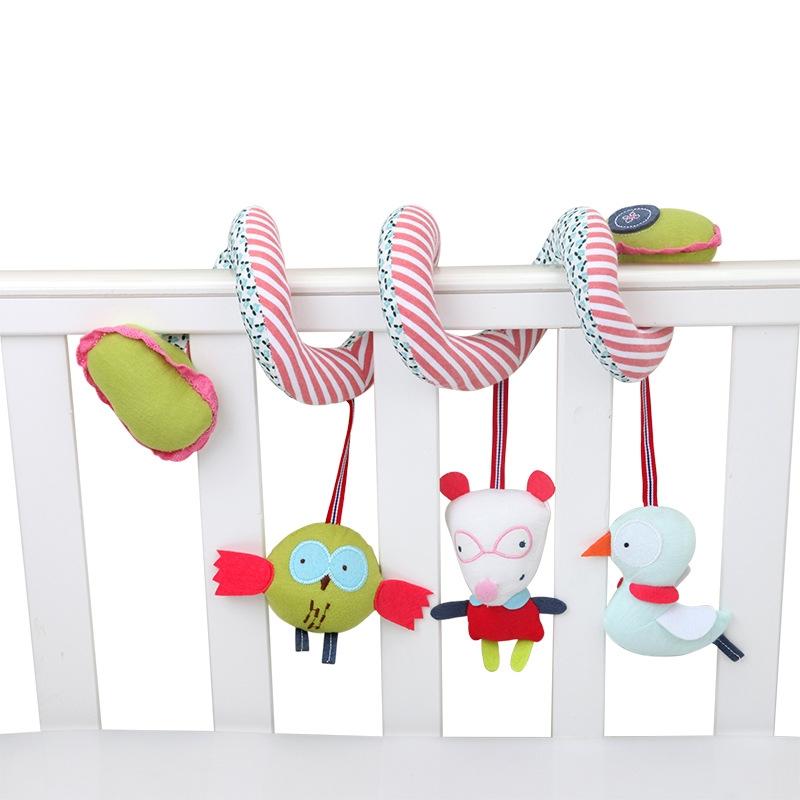 婴儿床绕 床挂车挂 新生儿多功能益智床头摇铃挂件 宝宝0-1岁玩具