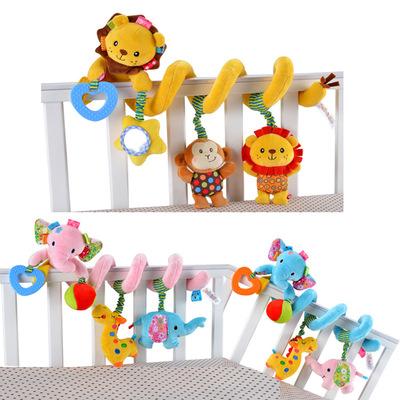 婴儿床绕 床挂车挂 新生儿多功能益智床头摇铃挂件 宝宝0-1岁玩具新品特惠