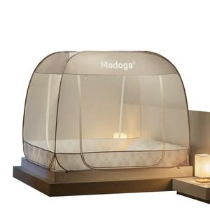 美朵嘉新款免安装蒙古包网红蚊帐加密加厚1.51.8m1.2米床双人家用
