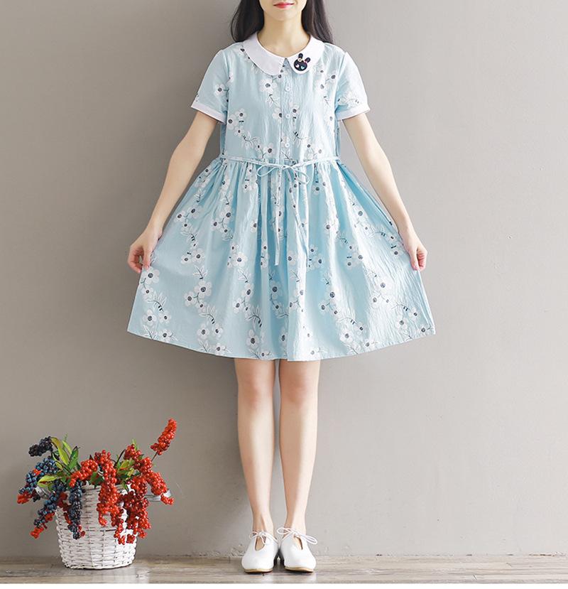 小学生连衣短裙
