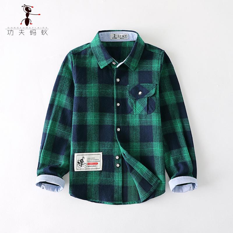 保暖儿童衬衫