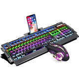 Real mechanical keyboard and mouse set cf special glare colorful cross fire line game peripherals shop home mouse and keyboard two pieces of wire Wrangler peripherals Internet cafes Internet cafes desktop