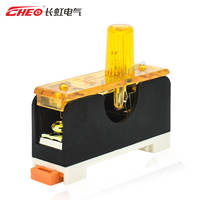 Changhong FS-101 DC24V DC fuse base seat box glass fuse tube phosphor bronze flame retardant