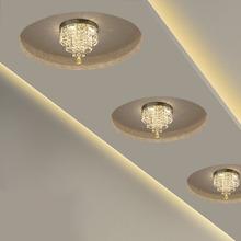 Led水晶灯吊灯客厅卧室走廊灯过道灯玄关阳台楼梯美式欧式吸顶灯