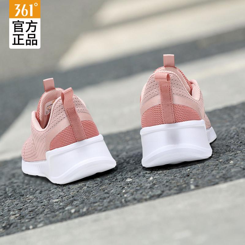 361运动鞋女夏2019春款学生休闲夏季跑步鞋361度春季网面透气女鞋