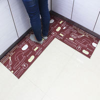Kitchen mat anti-skid oil-proof household carpet water-absorbing dirty mats kitchen mat bathroom door long door mat