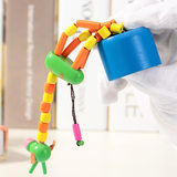 Swing Giraffe Barrel Toy New Swing Animal Press Toy Children's Puzzle Toy