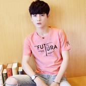 纯色圆领半袖 纯白衣服薄款 9.9元 夏季男装 男士 2017新款 t恤短袖 包邮