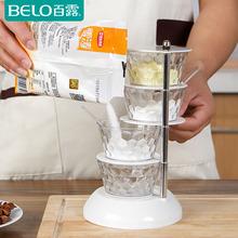 立式调味盒可旋转式调料盒多层创意厨房用品调味瓶调料罐多个家用图片