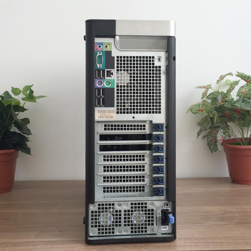 戴尔T3600图形工作站主机至强8核16线程专业渲染建模非编设计电脑