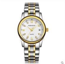 卡诗顿手表女士防水休闲石英表女表时尚潮流精钢女表腕表