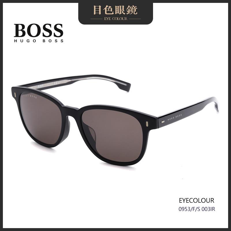 目色眼镜 BOSS 新款墨镜太阳眼镜男女方框超轻板材大框0953/F/S