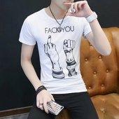 透气T恤工作汗服短袖 潮班服 t恤圆领体恤学生韩版 夏季男士 便宜特价