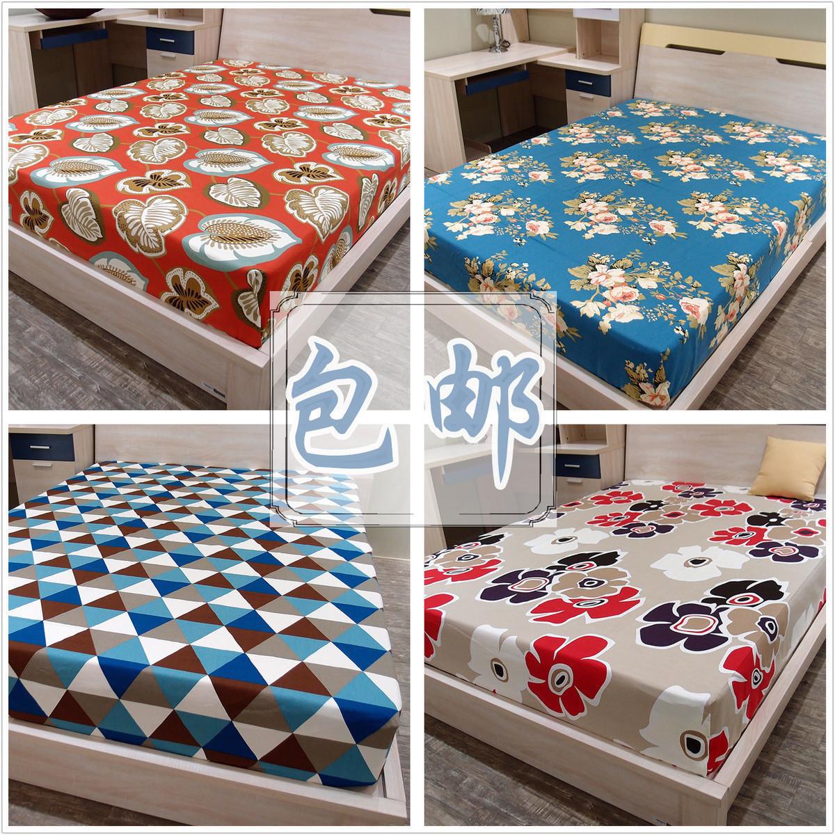 纯棉老粗布床笠