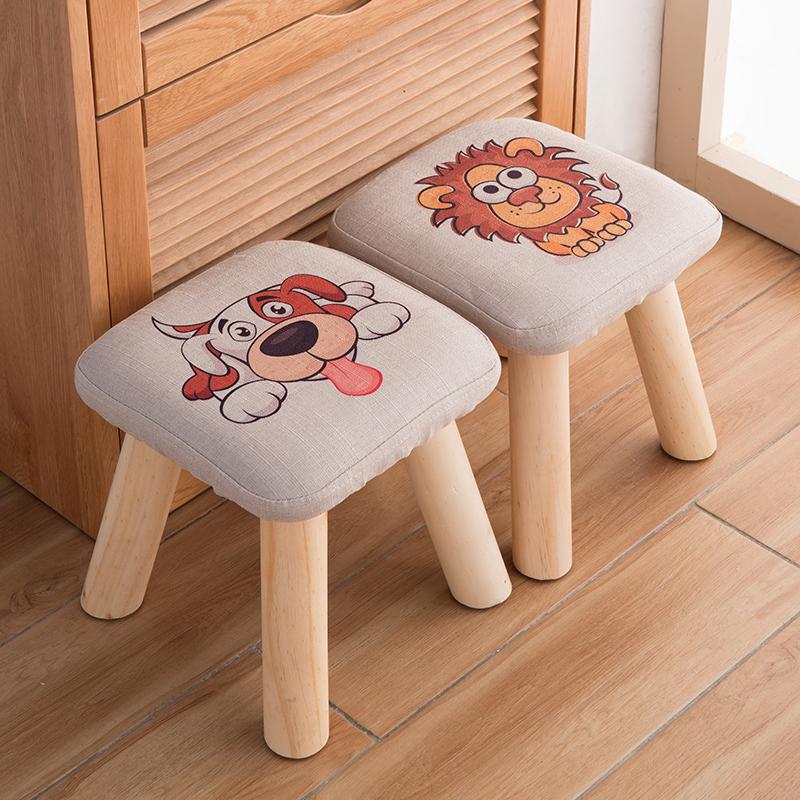 智亚数码印花卡通蘑菇凳新品沙发椅