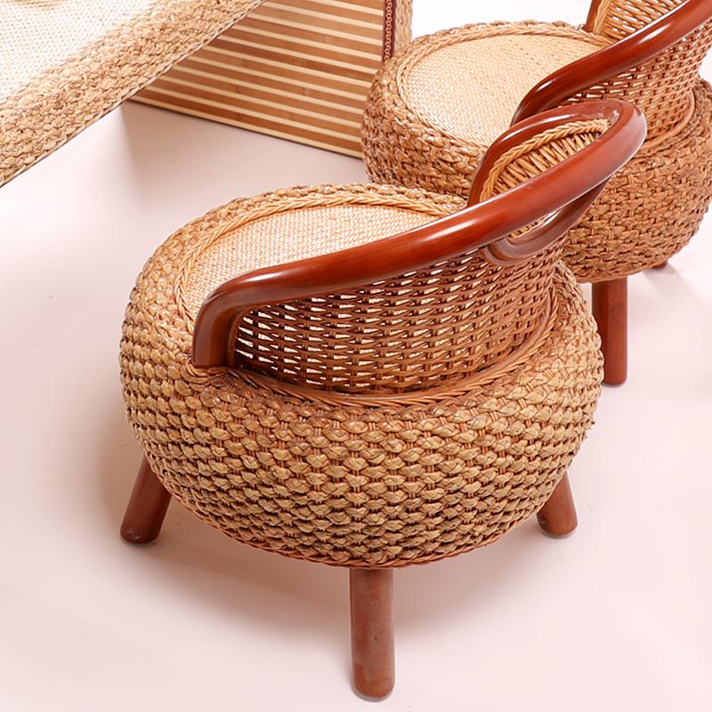 藤椅靠背椅阳台休闲椅子电脑椅酒店餐椅办公椅子时尚家居沙发座椅