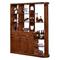 实木间厅柜双面玄关柜橡胶木门厅鞋柜酒柜装饰柜中式现代客厅隔断