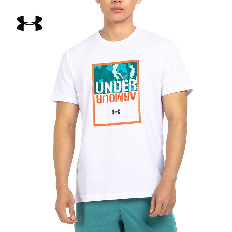 安德玛 官方 UA 印花 男子训练运动T恤 Under Armour-1348982