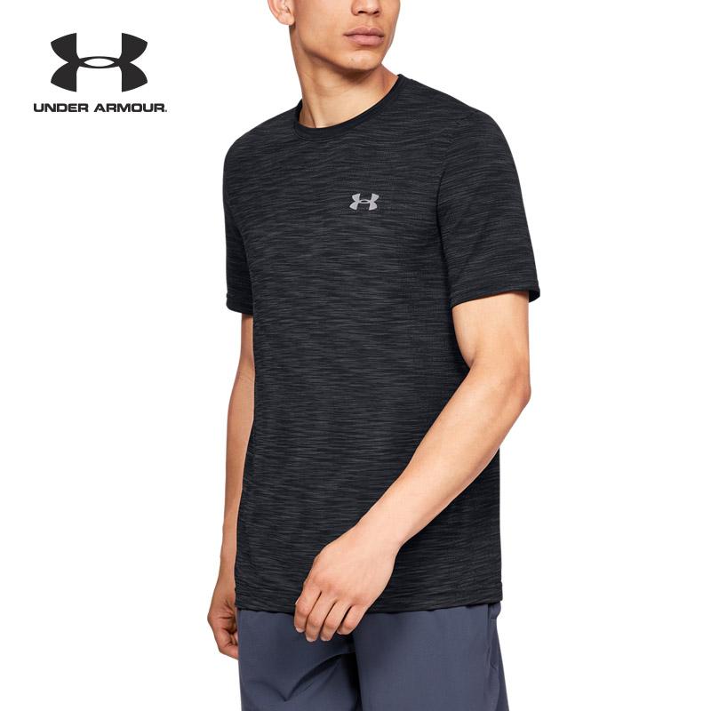 Under Armour 安德玛 UA男子 Seamless 运动训练短袖T恤-1325622