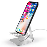 Common technology mobile phone holder sub-desktop iPad tablet to adjust lazy bedside vibrato to watch TV Apple
