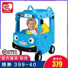 韩国yaya儿童小房车雅雅滑行学步车四轮手推踏行童车男孩游乐玩具图片