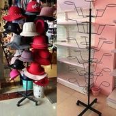 帽子收纳铁艺欧式挂架衣帽子架组装 特价 包邮 帽托落地 帽子展示架