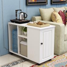 轻奢边几客厅沙发可移动小茶几美式小边几长方形简约地中海餐边柜
