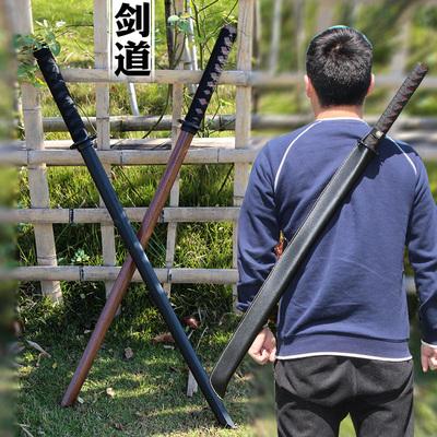百兵堂剑道木刀居合道训练习二刀流合气道日本儿童成人木剑未开刃
