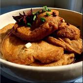 五香素鸡 微波加热 红烧油炸素鸡 包邮 美食私房菜肴 无锡特产 4件