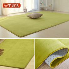 简约现代绒毛毯卧室满铺可爱客厅茶几垫沙发榻榻米床边地毯可定制