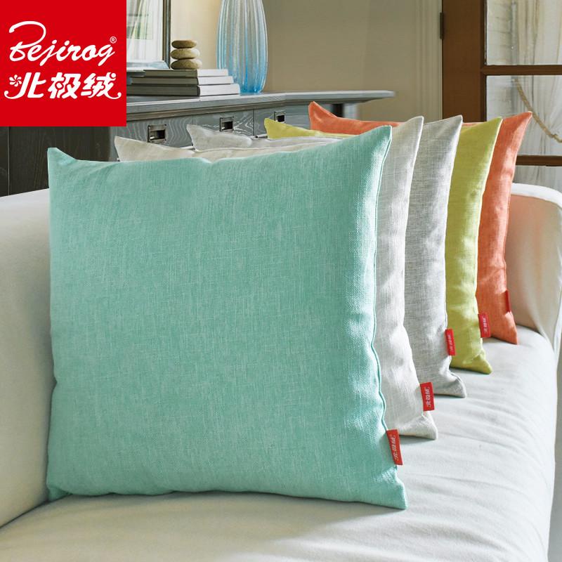 棉麻沙发靠枕