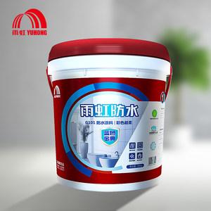 东方雨虹 雨虹防水蓝色金典G101柔韧18kg 卫生间防水涂料 材料