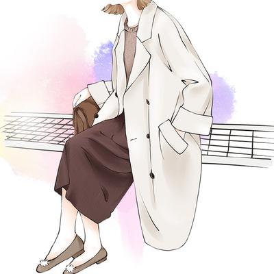 反季清仓双面呢大衣女中长款2019新款韩版秋宽松过膝长款毛呢外套