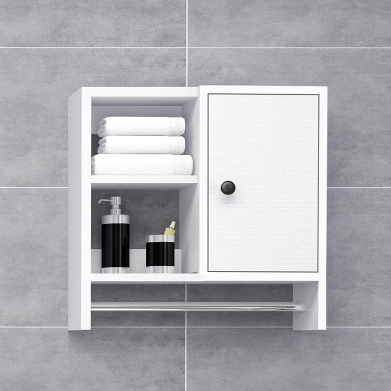 浴室实木置物架