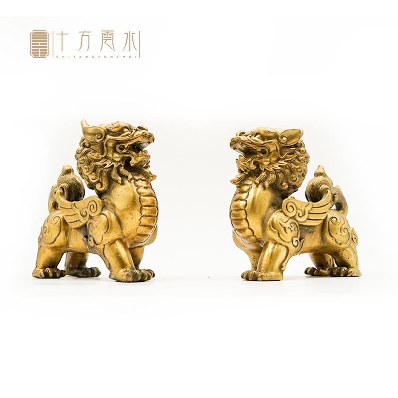 纯铜貔貅招财摆件 情景展示