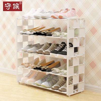 塑料鞋架简约现代门厅柜客厅简易组装经济型宿舍多层鞋柜加固家用排行