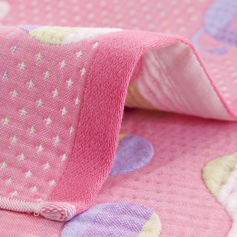 鑫泉枕巾纯棉枕巾一对成人枕巾情侣枕头巾纱布结婚枕巾纯棉