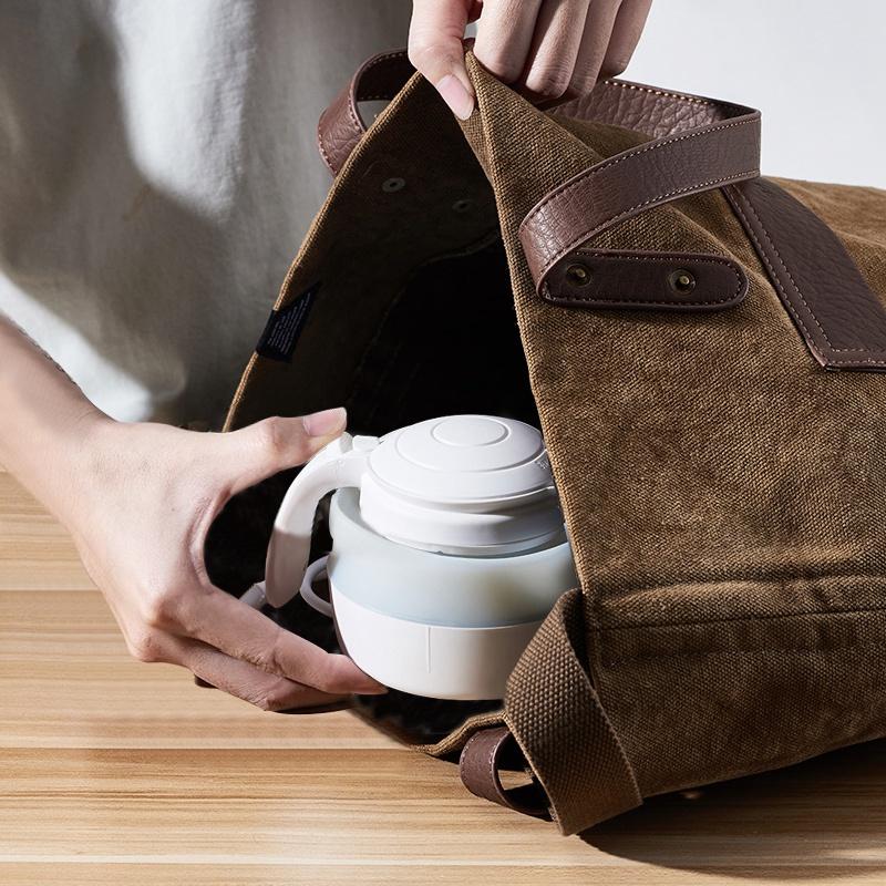 荣事达折叠式旅行电热水壶便携式烧水壶电水壶小型迷你家用宿舍